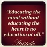 education and heart