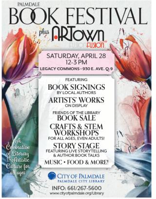 2018 Palmdale Book Festival Flier
