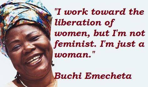 Buchi Emecheta-feminism